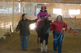 Typical Hippotherapy Session